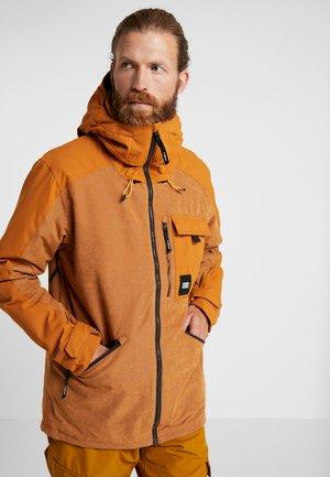UTILITY JACKET - Snowboard jacket - glazed ginger