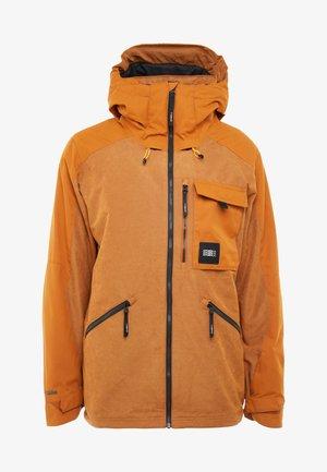 UTILITY JACKET - Snowboardjacka - glazed ginger