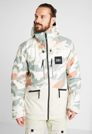 TEXTURED JACKET - Snowboardjacka - beige