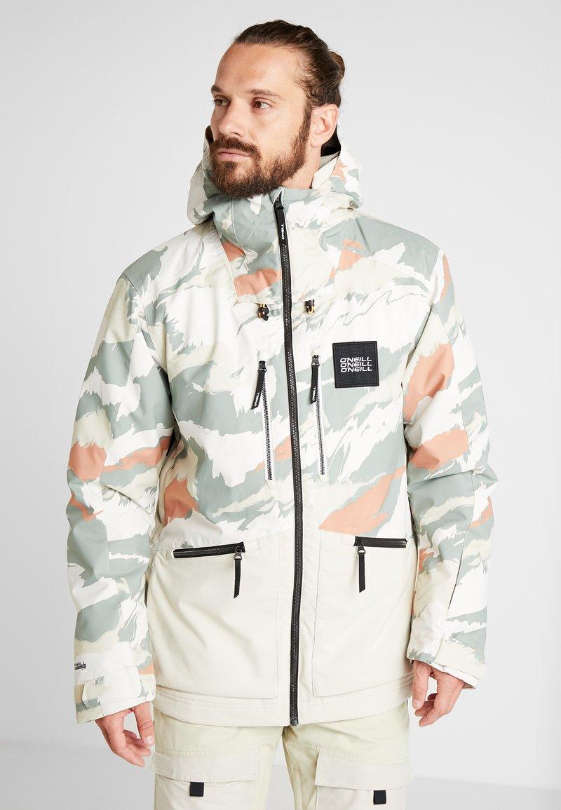 O'Neill - TEXTURED JACKET - Snowboardjas - beige
