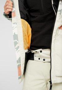 O'Neill - TEXTURED JACKET - Snowboardjas - beige - 6