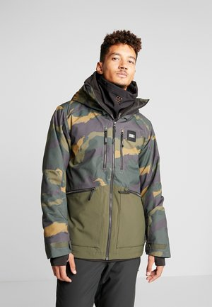 TEXTURED JACKET - Snowboardjas - green