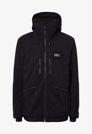 TEXTURED JACKET - Veste de snowboard - black out