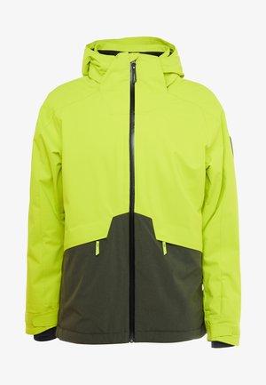 QUARTZITE JACKET - Snowboard jacket - lime punch