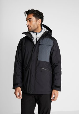 CARBONATITE JACKET - Snowboardová bunda - black out