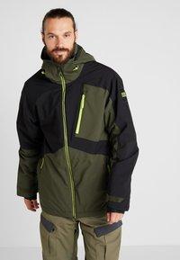 O'Neill - APLITE JACKET - Snowboard jacket - forest night - 0