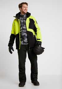 O'Neill - APLITE JACKET - Veste de snowboard - black out - 1