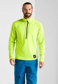O'Neill - CLIME - Fleece jumper - lime punch - 0
