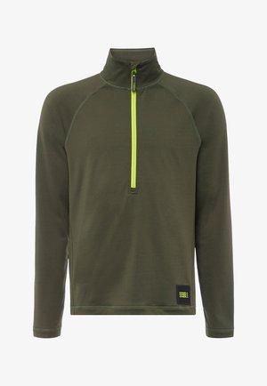 CLIME - Fleece trui - dark green