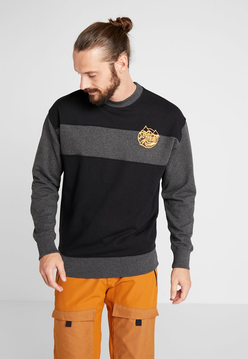 O'Neill - THE FROZEN CREW - Sweatshirt - black out