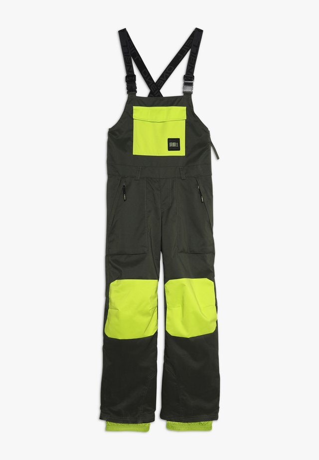 BIB PANTS - Schneehose - forest night