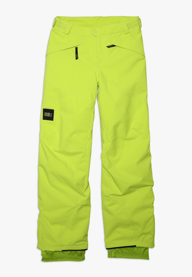 O'Neill - ANVIL PANTS - Pantalón de nieve - lime punch