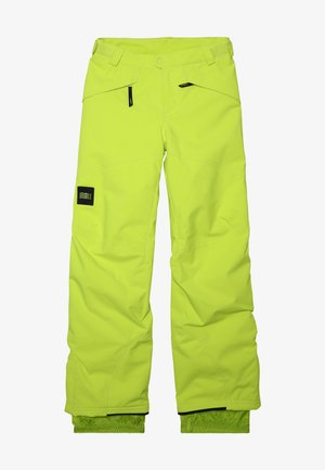 ANVIL PANTS - Pantalón de nieve - lime punch