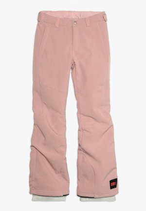 CHARM SLIM PANTS - Pantalon de ski - bridal rose