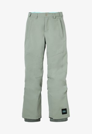 CHARM REGULAR PANTS - Schneehose - light green