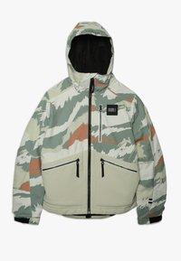 O'Neill - TEXTURED JACKET - Snowboardová bunda - beige - 0