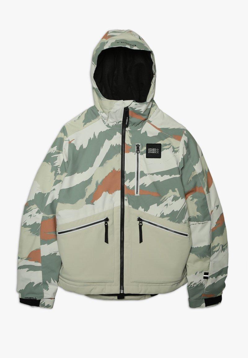 O'Neill - TEXTURED JACKET - Snowboardová bunda - beige