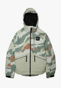 O'Neill - TEXTURED JACKET - Snowboardová bunda - beige - 2