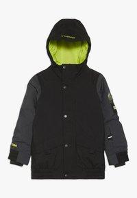 O'Neill - DECODE JACKET - Snowboardová bunda - black out - 0