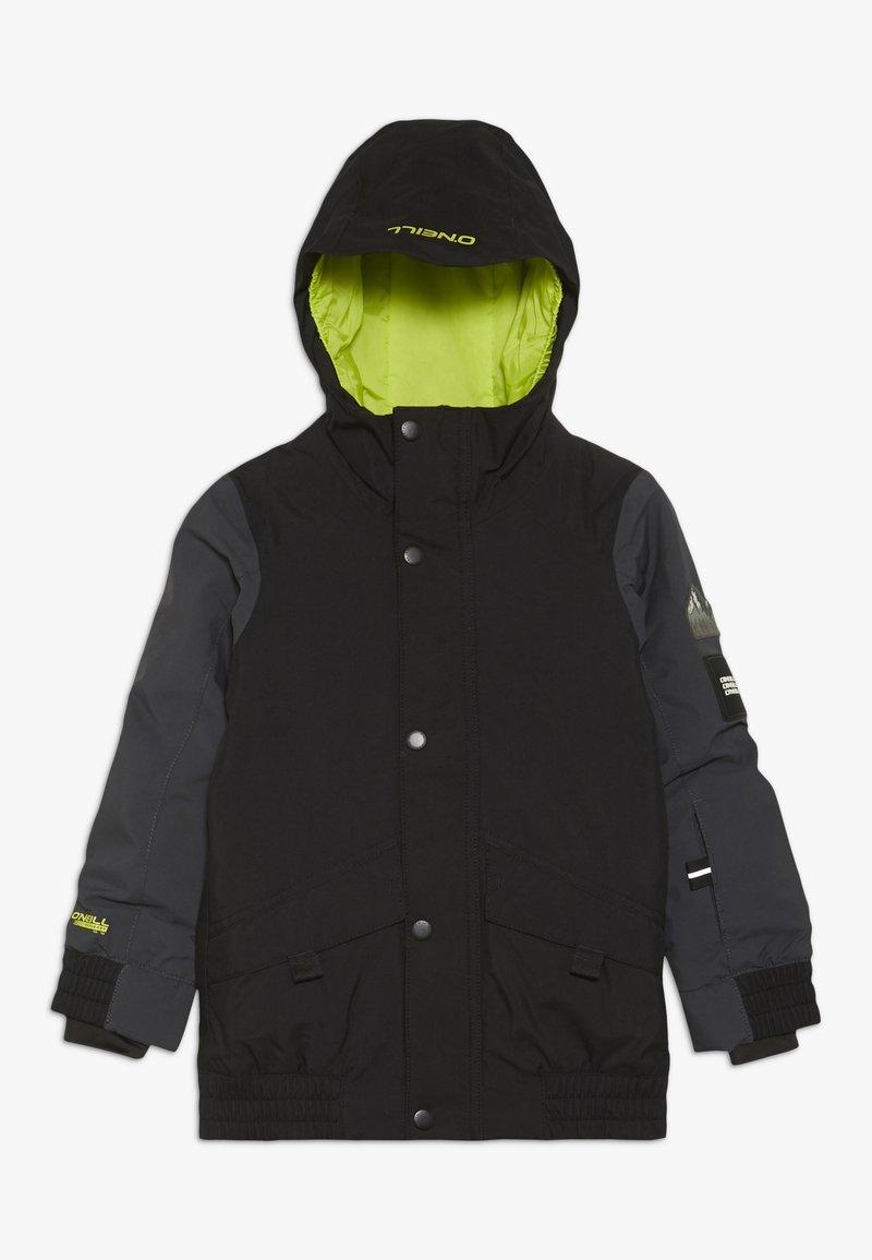 O'Neill - DECODE JACKET - Snowboardová bunda - black out