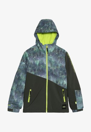 HALITE JACKET - Snowboardová bunda - green