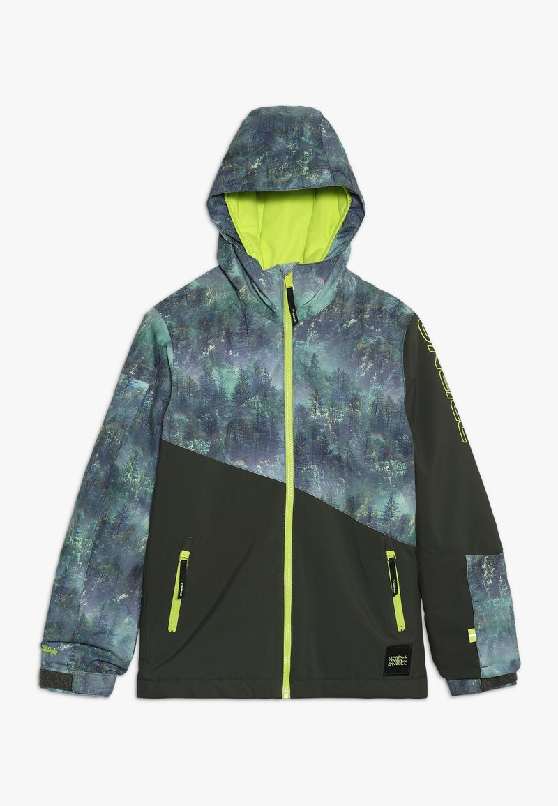 O'Neill - HALITE JACKET - Snowboardová bunda - green