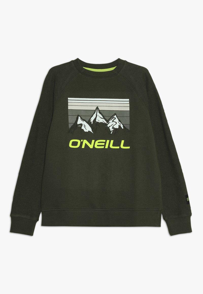 O'Neill - MORGAN CREW - Sweatshirt - forest night