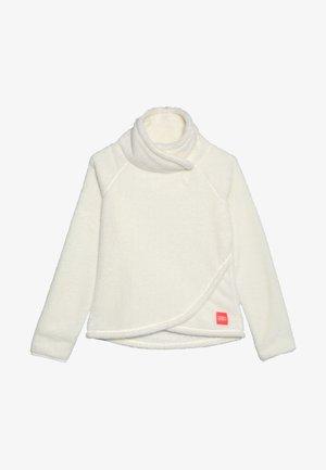HAZEL - Fleece jumper - powder white
