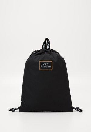 GYM SACK - Drawstring sports bag - black out