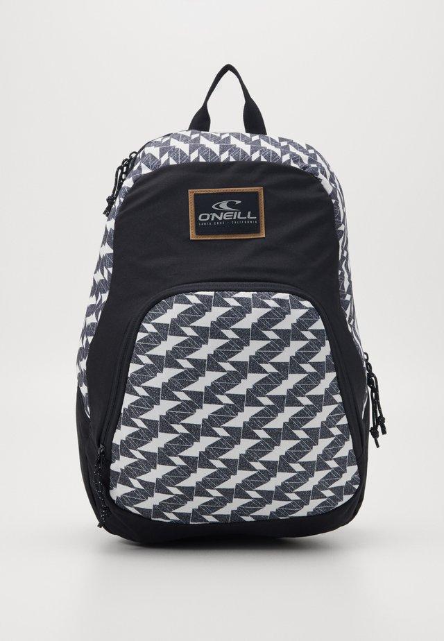 WEDGE BACKPACK - Plecak - white/black