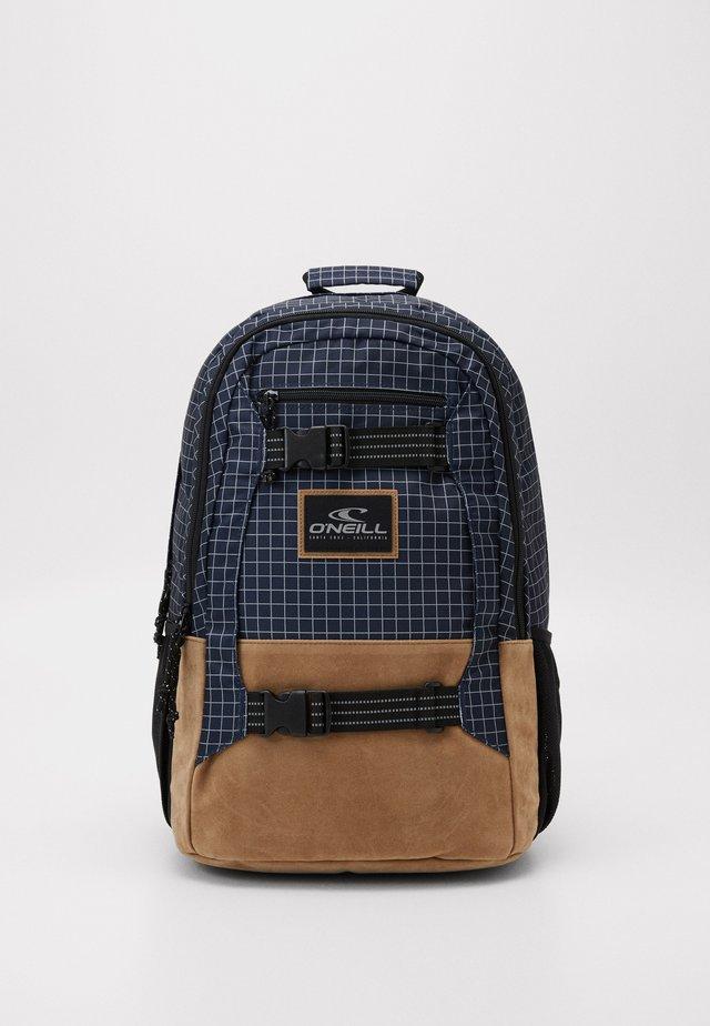 BOARDER BACKPACK - Plecak - blue/white