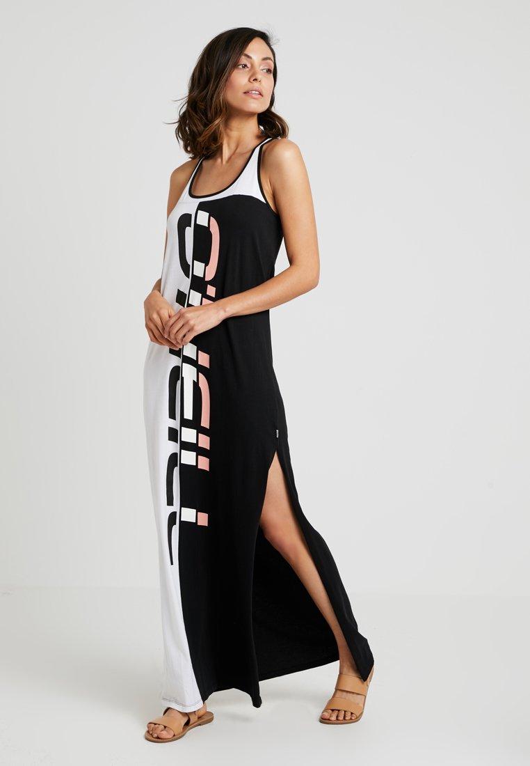 O'Neill - RACERBACK - Žerzejové šaty - black/white