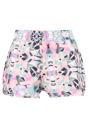 PRINT ESSENTIAL BOARDSHORTS - Badeshorts - white aop w/ green