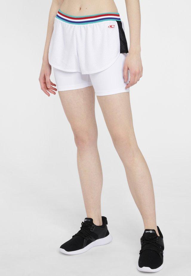 ATHLEISURE - Short de sport - white
