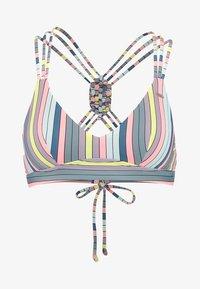 O'Neill - WAVE MIX - Bikini top - green/pink/purple - 5