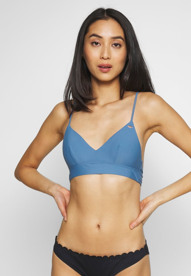 WAVE MIX - Bikini top - walton blue