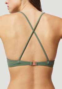 O'Neill - BAAY MIX - Bikini top - green - 2