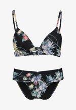 FIJIMIAMI MIX SET - Bikini - black/green