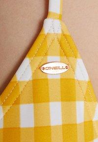 O'Neill - CAPRI BONDEY SET - Bikinier - yellow/white - 6