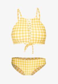 O'Neill - SOARA MAOI SET - Bikinier - yellow/white - 4