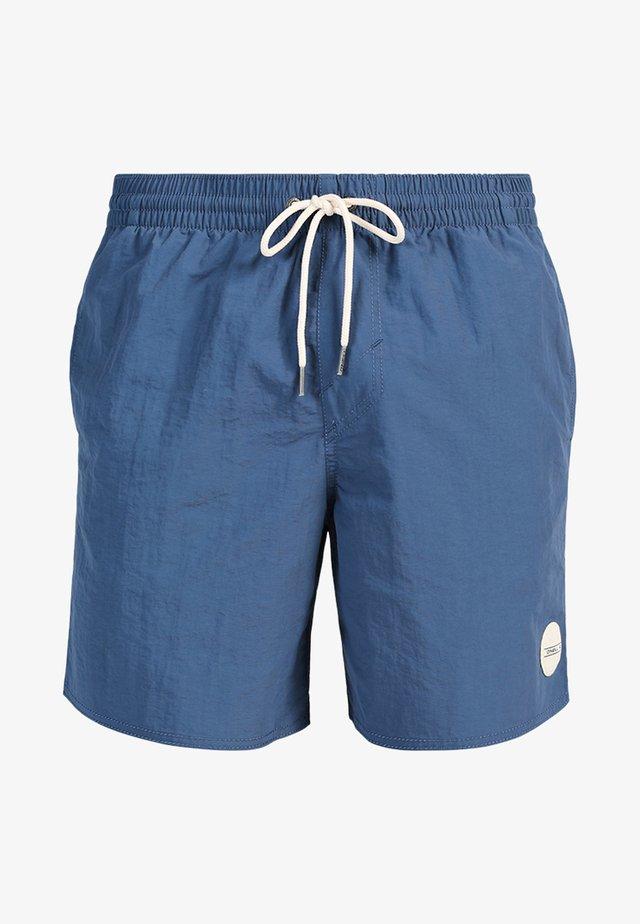 VERT - Short de bain - dusty blue
