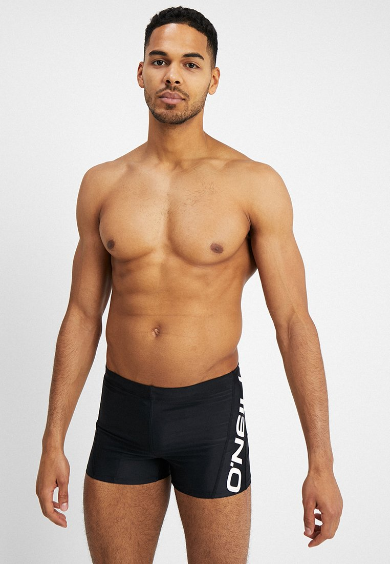 O'Neill - LOGO SWIMMING TRUNKS - Badehose Pants - black out