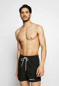 O'Neill - SUN&SEA - Swimming shorts - black out - 0