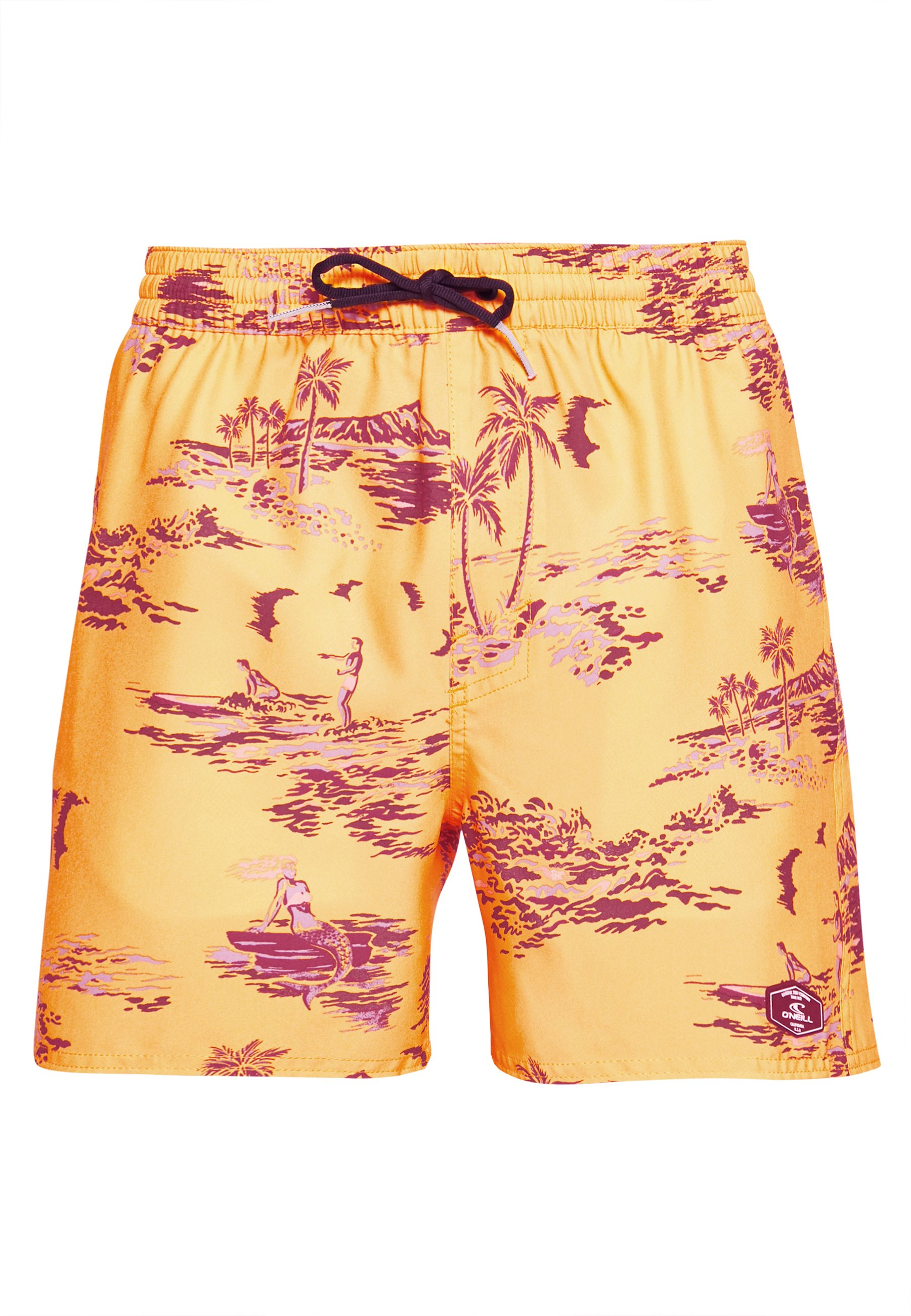O'neill Tropical - Shorts Da Mare Yellow/brown zbiMcFB