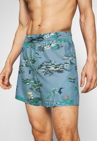 O'Neill - TROPICAL - Swimming shorts - blue/yellow - 3