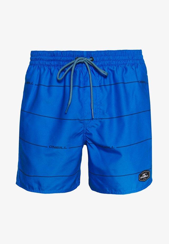 CONTOURZ - Szorty kąpielowe - blue