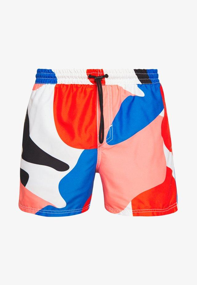 BEAM - Swimming shorts - blue/pink