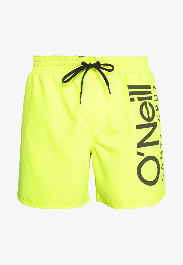 CALI - Surfshorts - new safety yellow