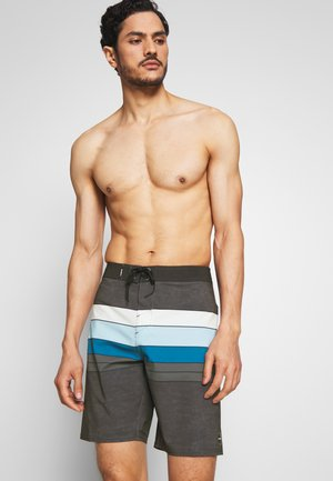 HYPERFREAK HEIST LINE - Shorts da mare - black