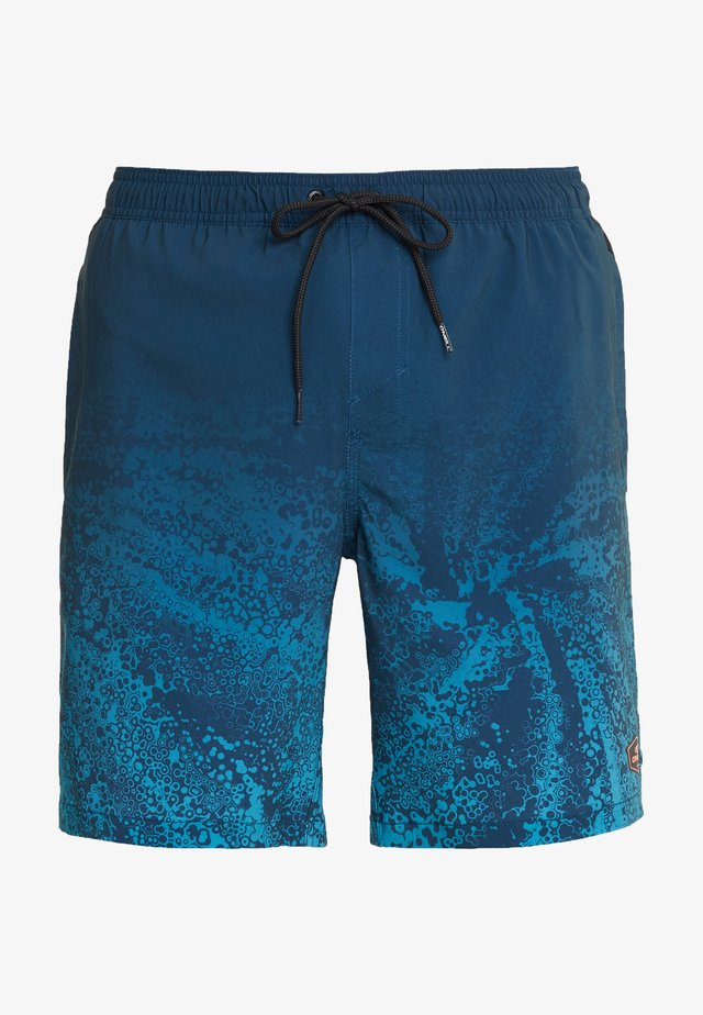 Swimming shorts - blue aop